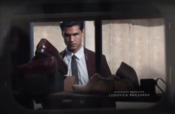 <b>  Elvis Esposito nel ruolo di Marcello Solara ne L'amica geniale , un grande successo di RaiUno.  </b>
