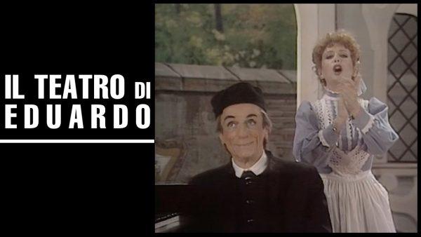 Eduardo De Filippo nel ruolo di Don Felice, con Marilù Prati nei panni della Santarella